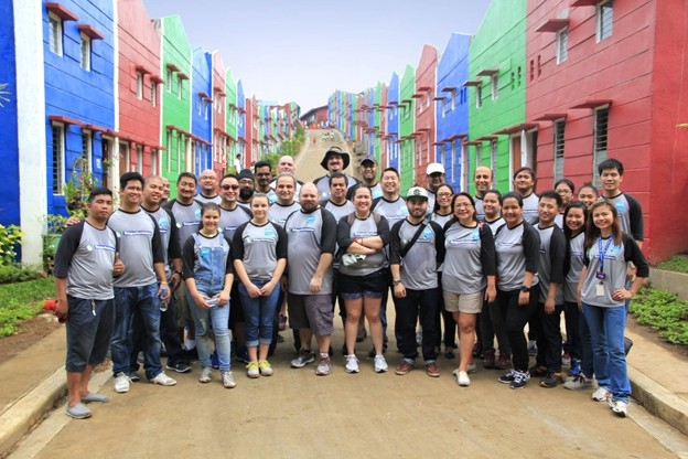 Teleperformance Completes Construction of 100 Homes at Gawad Kalinga on evergreen homes, habitat for humanity homes, mother teresa homes, cebu homes, philippines homes, manila homes,